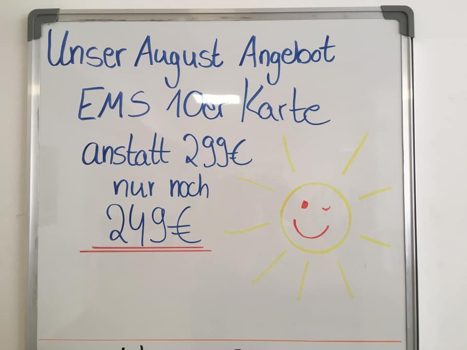 EMS-August Angebot!